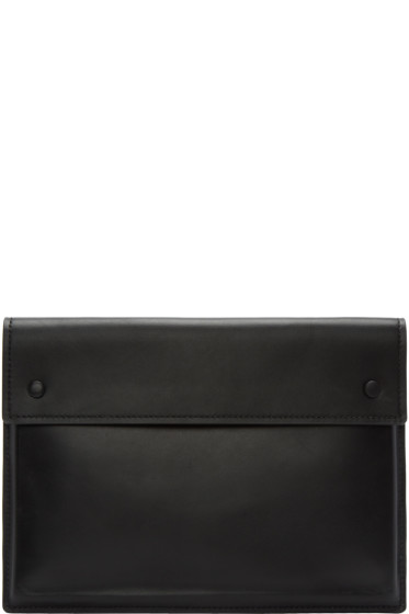 Alexander Wang - Black Leather A4 Pouch