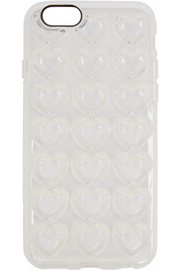Marc Jacobs - Clear Jelly Heart iPhone 6 Case