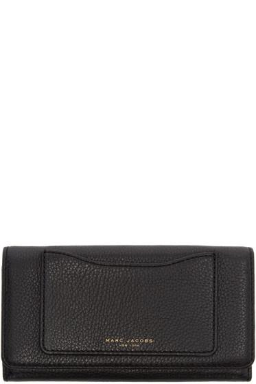 Marc Jacobs - Black Leather Recruit Wallet