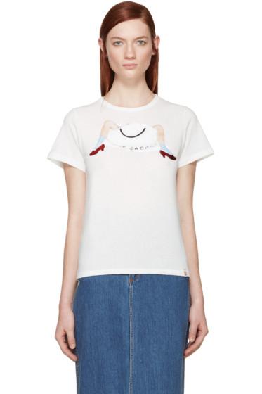 Marc Jacobs - Black Victoria Logo T-shirt