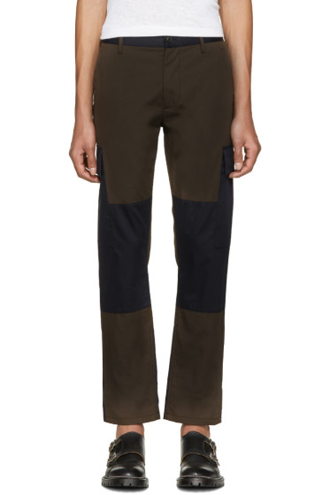Marc Jacobs - Green & Navy Cargo Pants