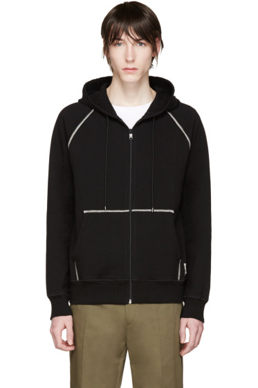 Marc Jacobs - Black French Terry Zip Hoodie