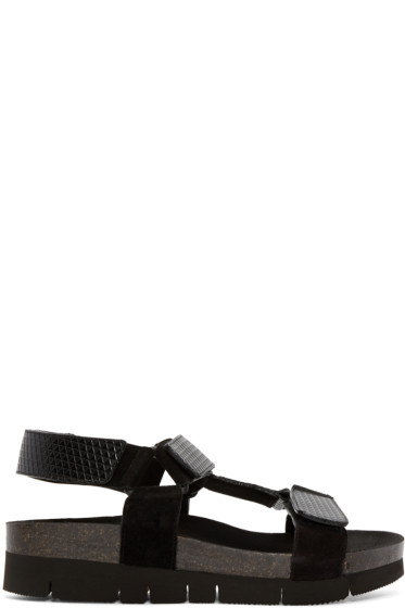 Marc Jacobs - Black Multi-Strap Sandals