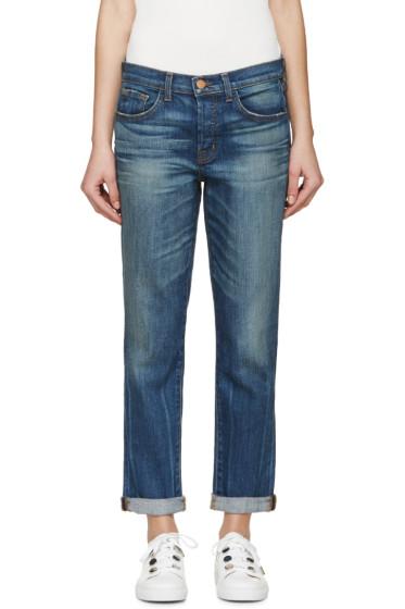 J Brand - Blue Skinny Caitland Jeans