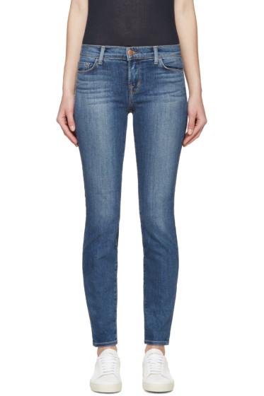 J Brand - Blue Skinny 811 Jeans
