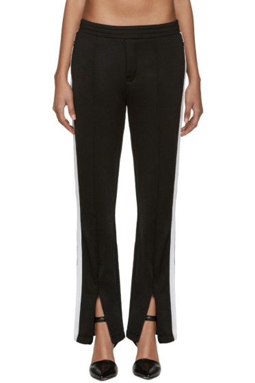 T by Alexander Wang - Black & White Track Pants