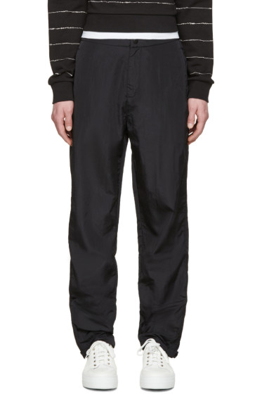 T by Alexander Wang - Black Nylon Lounge Pants
