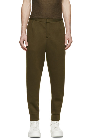 T by Alexander Wang - Green Neoprene Lounge Pants