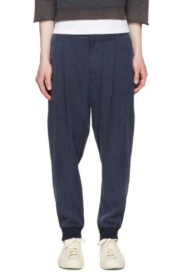 Robert Geller - Navy Duster Trousers