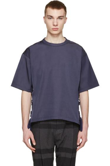 Robert Geller - Navy Louis T-Shirt