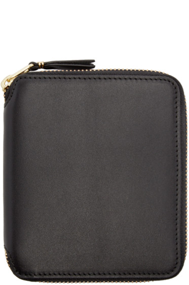 Comme des Garçons Wallets - Black Leather Line 125 Wallet