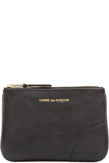 Comme des Garçons Wallets - Black Small Leather Pouch