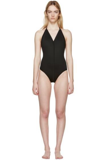 Rick Owens - Black T-Strap Swimsuit