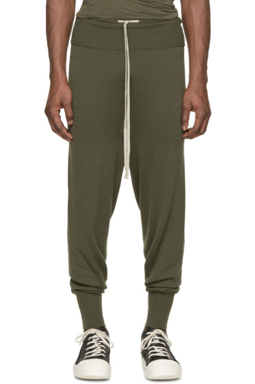 Rick Owens - Green Drawstring Lounge Pants