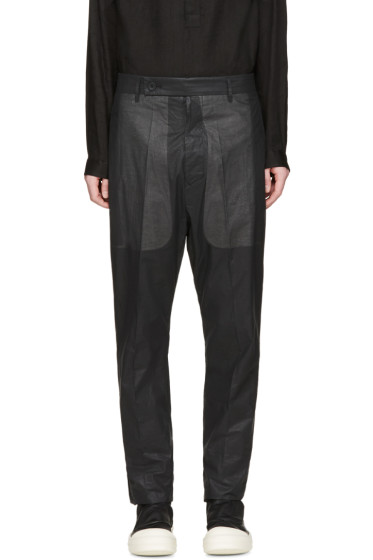 Rick Owens - Black Easy Astaires Trousers