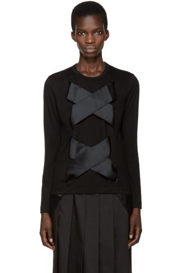 Comme des Garçons - Black X Tie T-Shirt