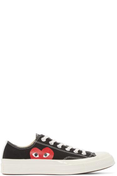 Comme des Garçons Play - Black Converse Edition Sneakers