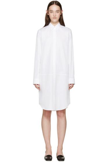 Jil Sander - White Poplin Abalar Dress