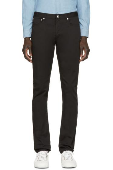 A.P.C. - Black Petit New Standard Jeans
