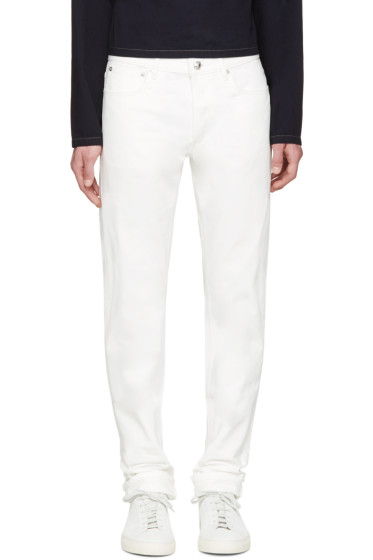 A.P.C. - White Petit New Standard Jeans