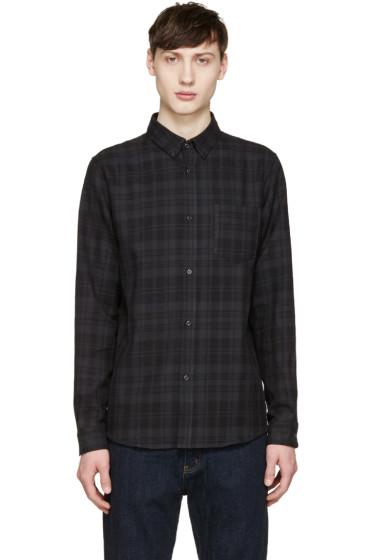 A.P.C. - Grey Check Bruce Shirt