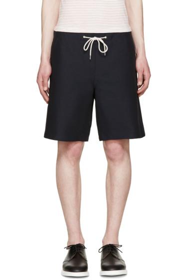 A.P.C. - Navy Jam Shorts