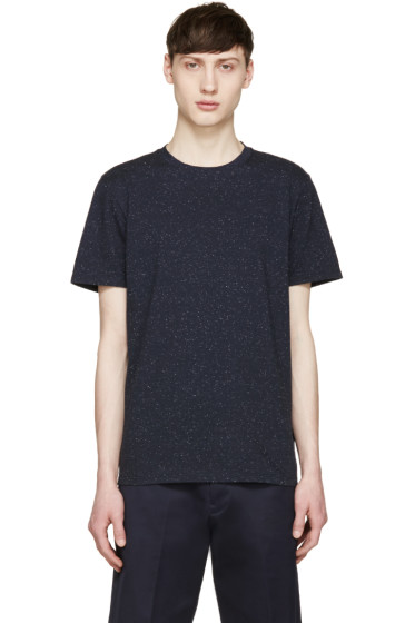 A.P.C. - Navy Speckled Paul T-Shirt