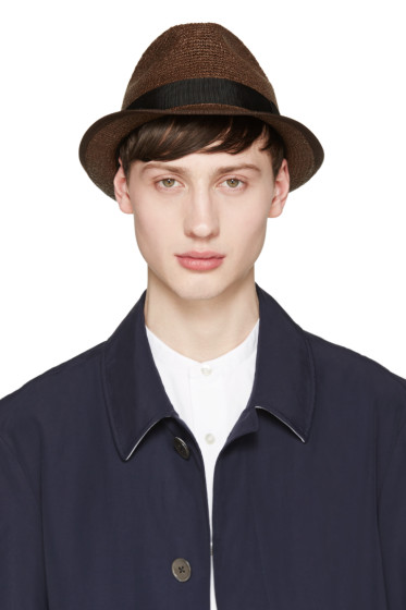 Junya Watanabe - Brown Paper Hat