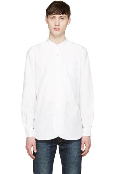 Junya Watanabe - White Mandarin Collar Shirt