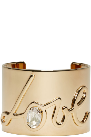 Lanvin - Gold Love Cuff