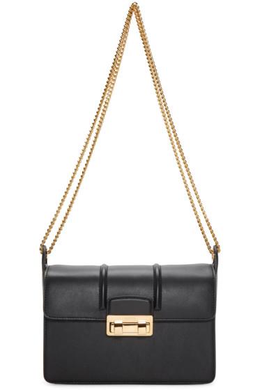 Lanvin - Black Leather Jiji Shoulder Bag