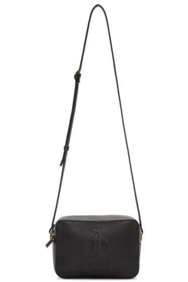 Lanvin - Black Leather Nomad Shoulder Bag