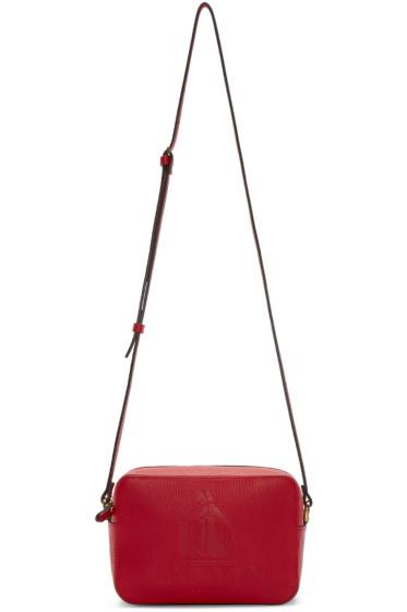 Lanvin - Red Leather Nomad Shoulder Bag