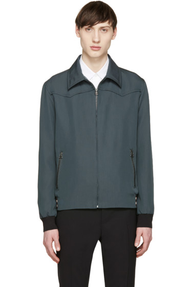 Lanvin - Green Zip Jacket