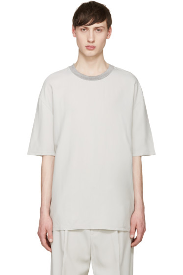 Lanvin - Grey Oversized T-Shirt