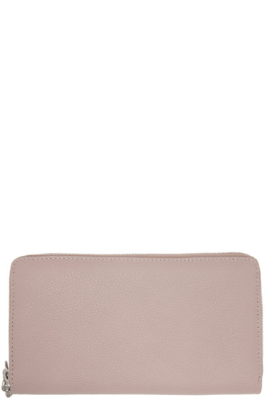 Alexander McQueen - Pink Leather Continental Wallet