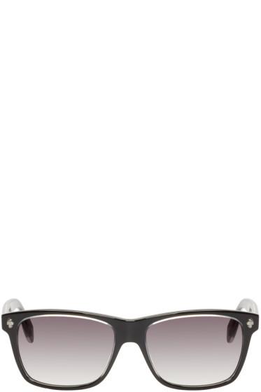 Alexander McQueen - Black Acetate Skull Sunglasses