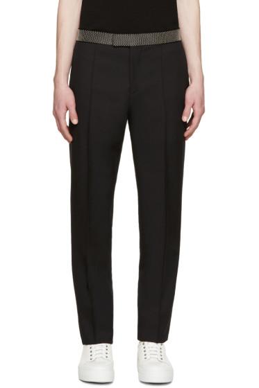 Alexander McQueen - Black Studded Waist Trousers