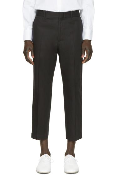 Alexander McQueen - Black Cotton Trousers