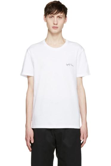 Alexander McQueen - White Legendary Creature T-Shirt