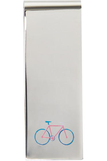 Paul Smith - Silver Bicycle Money Clip