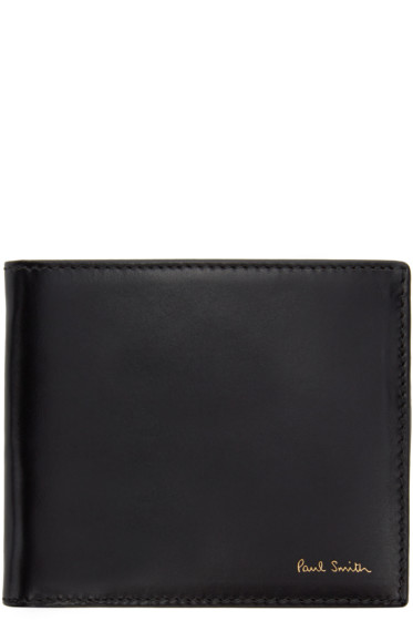 Paul Smith - Black Color Flash Wallet