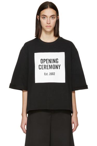 Opening Ceremony - Black & White Oversized T-Shirt