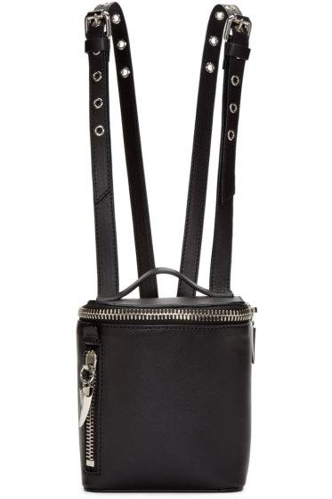 Giuseppe Zanotti - Black Leather Mini Clopper Backpack
