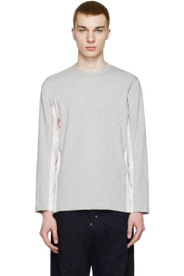Comme des Garçons Shirt - Grey & Pink Cloud T-Shirt