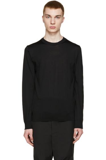 Comme des Garçons Shirt - Black Printed Sleeve T-Shirt
