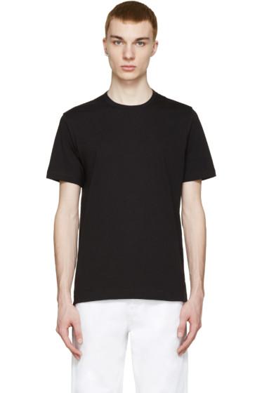 Comme des Garçons Shirt - Black Drop-Tail T-Shirt