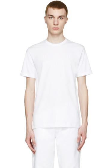Comme des Garçons Shirt - White Drop-Tail T-Shirt
