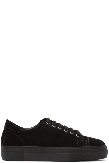 Comme des Garçons Shirt - Black Suede Sneakers