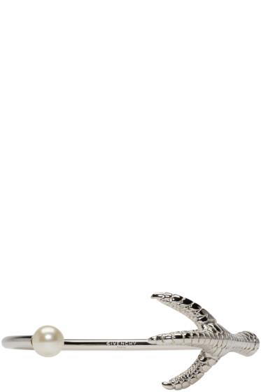 Givenchy - Silver Rooster Leg Bracelet